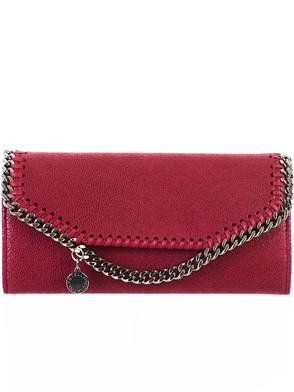 STELLA MC CARTNEY - PURPLE WALLET