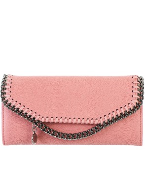 STELLA MC CARTNEY - PINK WALLET