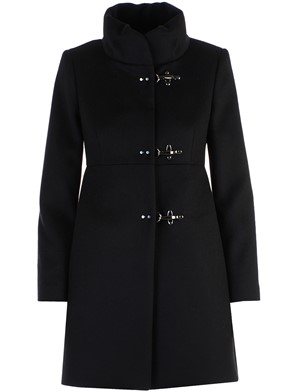 FAY - BLACK NEW ROMANTIC COAT