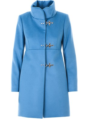 FAY - LIGHT BLUE NEW ROMANTIC COAT