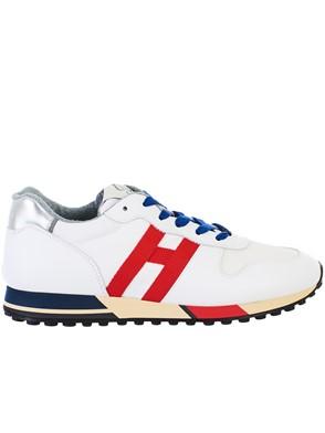HOGAN - WHITE H383 NEW RUNNING SNEAKERS