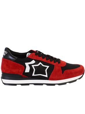 ATLANTIC STAR - LEATHER AND FABRIC SNEAKERS