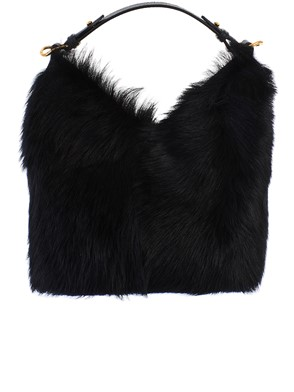 ANYA HINDMARCH - BORSA MINI SHEARLING NERA