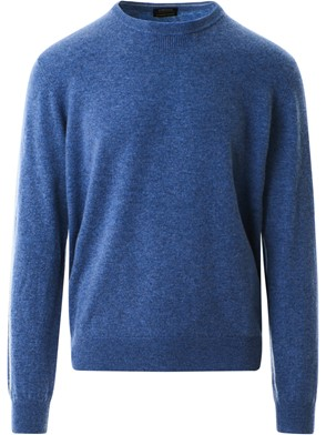Z ZEGNA - LIGHT BLUE SWEATER