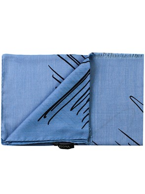 Z ZEGNA - LIGHT BLUE SCARF