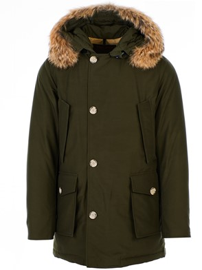 WOOLRICH - GREEN ARTIC PARKA