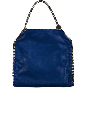 STELLA MC CARTNEY - BORSA FALABELLA SMALL TOTE BLU