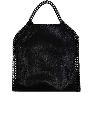 STELLA MC CARTNEY - TRACOLLA TINY FALABELLA NERA