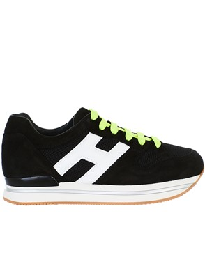 HOGAN - SUEDE SNEAKERS