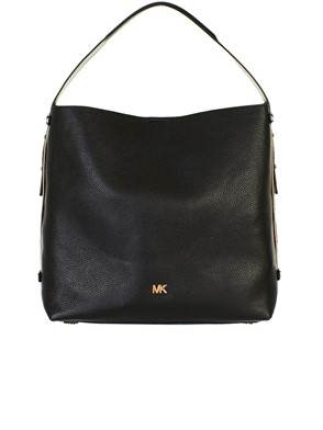 MICHAEL KORS - BORSA GRIFFIN LG HOBO BLACK