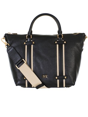 MICHAEL KORS - BORSA GRIFFIN LG SATCHEL BLACK