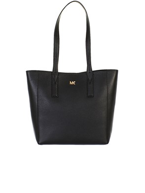 MICHAEL KORS - BORSA  JUNIE MD TOTE BLACK