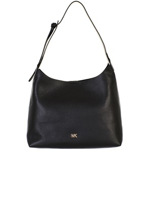 MICHAEL KORS - BORSA  JUNIE MD HOBO BLACK