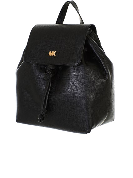 d31ec43489 michael michael kors BLACK JUNIE BACKPACK available on lungolivigno ...