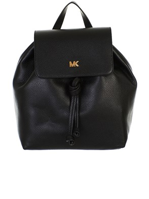 MICHAEL KORS - ZAINO JUNIE MD FLAP BLACK