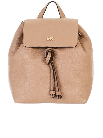 b7a9a84701 michael michael kors BEIGE JUNIE BACKPACK available on lungolivigno ...