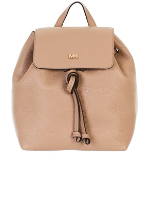 MICHAEL KORS - BEIGE JUNIE BACKPACK