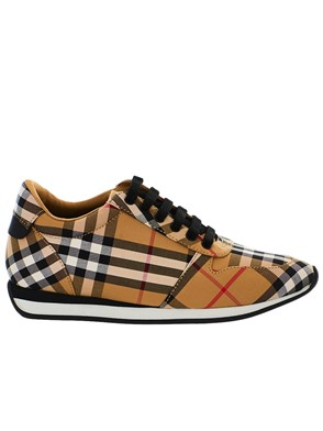 BURBERRY - SNEAKERS MF TRAVIS VC ANTIQUE