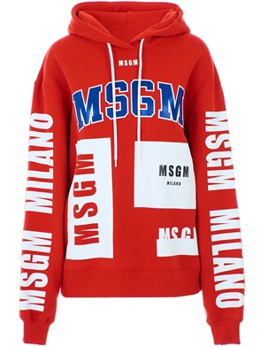 MSGM - RED SWEATSHIRT