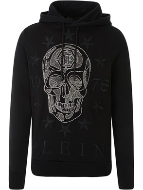 PHILIPP PLEIN - BLACK SWEATSHIRT