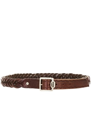GOLDEN GOOSE - BROWN BELT