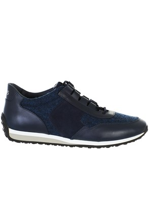 TOD'S - BLUE SNEAKERS