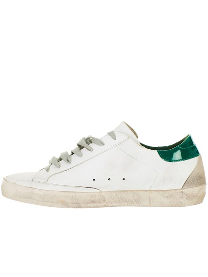 Brand Deluxe And Superstar Sneakers Green White Goose Golden qFw7TT
