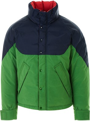 BURBERRY - RED AND GREEN REVERSIBLE JACKET