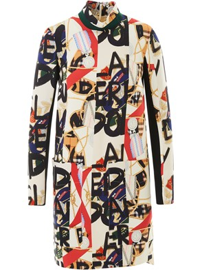 BURBERRY - MULTICOLOR DRESS