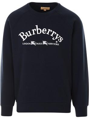 BURBERRY - BLUE SWEATSHIRT