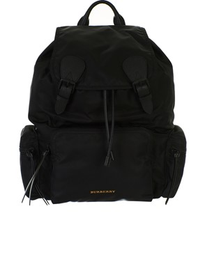 BURBERRY - ZAINO NERO