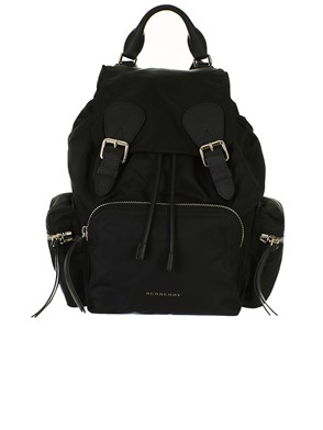 BURBERRY - BLACK BACKPACK