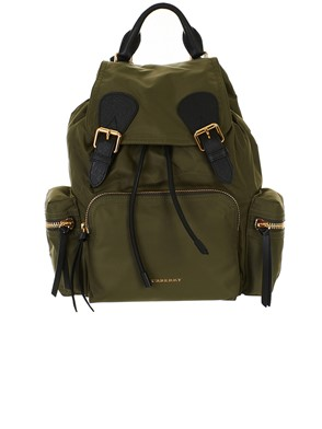 BURBERRY - GREEN BACKPACK