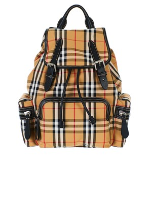 BURBERRY - BROWN BACKPACK