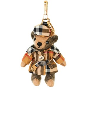 BURBERRY - BROWN TEDDY BEAR KEYRING