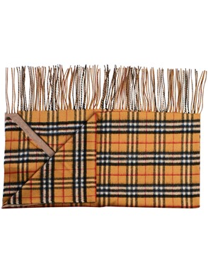 BURBERRY - BROWN SCARF