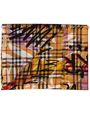 BURBERRY - MULTICOLORED SCARF