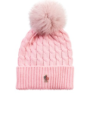 MONCLER - PINK BEANIE