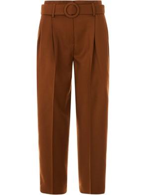 TRUE ROYAL - BROWN CULOTTE PANTS