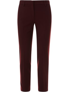 TRUE ROYAL - BURGUNDY JAKIE PANTS