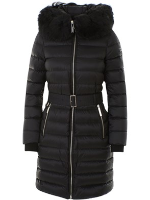 BURBERRY - BLACK DOWN JACKET