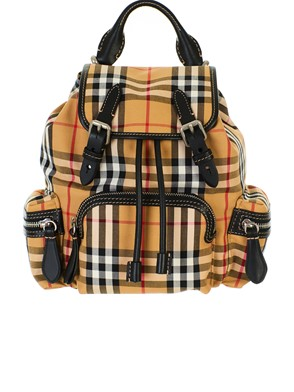 BURBERRY - ZAINO VINTAGE YELLOW