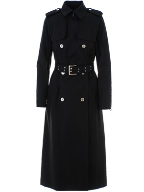 MICHAEL KORS - BLACK LACE UP TRENCH COAT