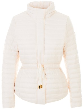 MICHAEL KORS - WHITE BELTED DOWN JACKET