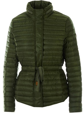 MICHAEL KORS - GREEN BELTED DOWN JACKET