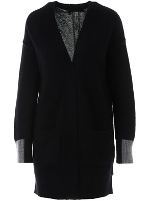 360 CASHMERE - BLACK BRITTO CARDIGAN