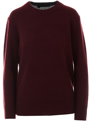 360 CASHMERE - BURGUNDY FRANNY SWEATER