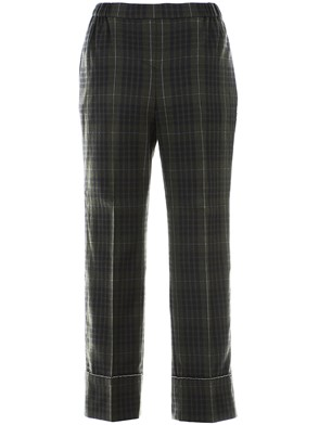 N21 - GREEN CHECK PANTS