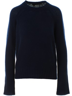 360 CASHMERE - BLUE MAIKEE SWEATER