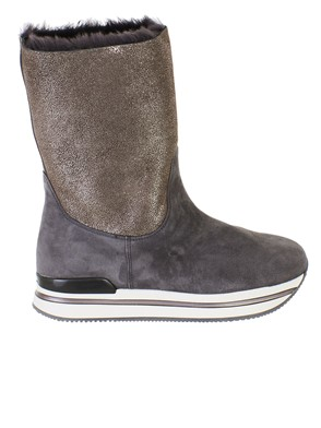 HOGAN - GREY H222 BOOTS